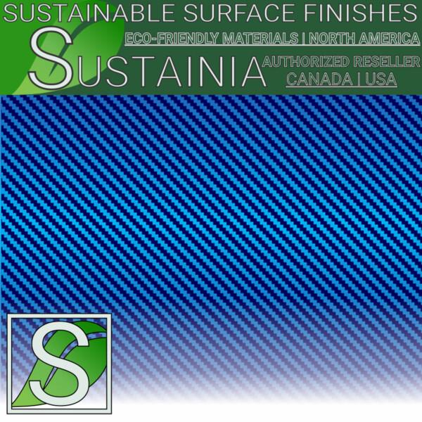 ca-5514 blue carbon fiber 3m di noc architectural finishes - wallcovering films
