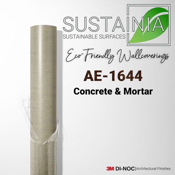 AE-1644   mortar,stucco,sustaina,wallcoverings   Sustainia