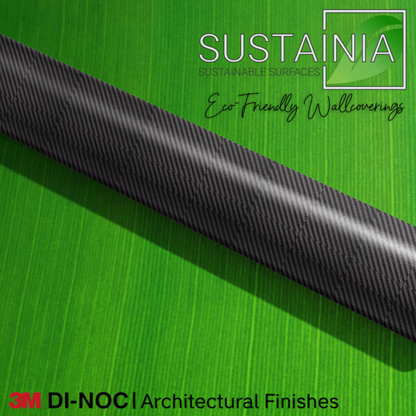 Carbon Fiber Wallcovering by 3M DI NOC