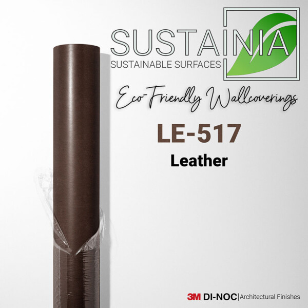 Leather Wallcovering by 3M DI NOC